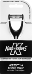 King of Shaves Azor4 Razor + 2 Cartridges for $2.50 + Shipping @ Shave.com.au