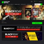Green Man Gaming Black Friday: XCOM 2 and GTA V US $28.57ea (~AU $38.31) and More + 10% off Code + Free Mystery Game on Purchase