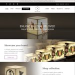 20% off Sale (Custom Candles & Lamps) from $28-$75.2 (normally $35-$94)+ Free Shipping over $100 @ Enlightin.design