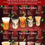 Free Large Upsize at Gong Cha QV Melbourne