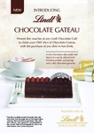 Lindt Café: Free Slice of Chocolate Gateau with Any Dine-in Hot Drink Purchase