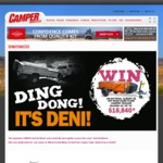 Win an Ezytrail Albany SE Hard Floor Camper Trailer Worth $18,840 from Adventure Group Holdings