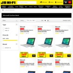 20% off Surface Book at JB Hifi Ends Monday 2nd October (128GB Starting @ $1837)