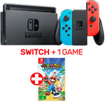 Nintendo Switch + 1 Game (Mario + Rabbids) $445.05 @ EB Games eBay