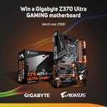 Win an AORUS Z370 Ultra Gaming Motherboard Worth $279 from Scan Computers