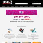20% off All Vinyls at Vinyldestination