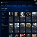 [PS4] 2 Games for $40 (e.g. Wipeout Omega Collection and Gravity Rush 2) @ PlayStation AU Store