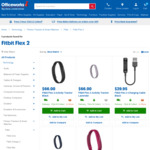 Fitbit Flex 2 $66.00 @ Officeworks