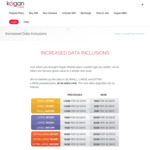 Kogan Mobile Data Upgrades on Selected Prepaid Mobile Plans (Small Now 2GB, Large Now 16GB, XL Now 23GB) (New and Exist. Cust)