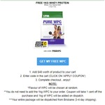 Free 1kg WPC Protein with Any Purchase over $40 (3kg WPC for $49 Delivered) VPA