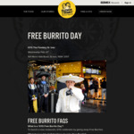 [NSW] Free Burrito Day, 7th Feb @ Guzman y Gomez (St. Ives)