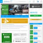 Microsoft Xbox Live 3 Month Gold Subscription Card US $12.99 (AU $16.55) (+2% VISA Surcharge = AU $16.89) @ GamesDeal