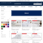 Sheridan Outlet - 70% off Sheets and Towels