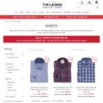 T.M. Lewin Shirts from $39.95 ($10 Delivery, Free over $120)