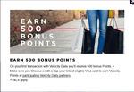 [NSW] Velocity Daily - 500 Bonus Velocity Points on First VISA Purchase