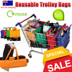 Eco Friendly Set of 4 Shopping Trolley Bags $34.95 (Save $11.65) + Free Shipping @ DailyChoices