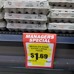 [SA] Meggles 700g Caged Eggs $1.69 (save $2.26) @ Romeo's Foodland (Morphett Vale)