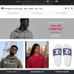 Champion Activewear Online - 20% off (Excludes Streetwear)