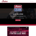 Win a 2019 Indian Motorcycle Worth $25,000 from Polaris Australia
