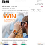Win a STORM Dualmation Watch Worth $325 from STORM