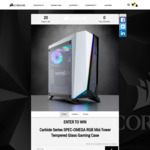 Win a Corsair Carbide SPEC-OMEGA RGB Mid-Tower Tempered Glass Chassis Worth $229 from Corsair
