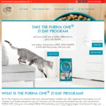 Free 150g Nestle Purina Salmon and Tuna Formula @ Purina One
