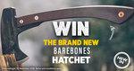 Win a Barebones Hatchet Worth $139.95 from Wild Earth