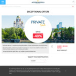 Accor up to 40% off Private Sale (Minimum 1, 2 or 3 Nights) - Asia