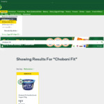 Chobani Fit Yoghurt $1.12 @ Woolworths
