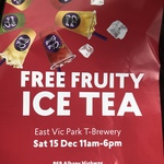 [WA] Free Fruity Ice Tea with Topping @ Chatime (Vic Park)
