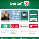 Free Coffee via 7 Eleven Fuel App 12/01