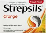 Strepsils Sore Throat & Blocked Nose Lozenges (36) / Orange $4.99 + Post (Free with Prime/ $49 Spend) @ Amazon AU