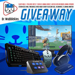 Win a Gaming and Streaming Peripheral Pack from Dr. Wubblekins