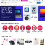 5% off Sitewide @ eBay ($70 Min Spend, $50 Max Discount)