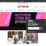 Nothing over $20 Sitewide (Excludes New Arrivals) @ Cotton On