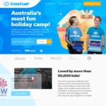 Free Child's Hoyts Cinema Ticket with Every Code Camp Booking (Prices Starting from $239) @ Code Camp