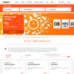 Jetstar O/W Friday Frenzy Incl MEL to CNS from $107, PER to MEL from $125, BNE to ADL from $93, SYD to Bali from $219 and More