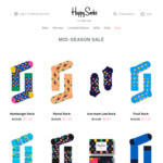 Happy Socks (from $11.97) 40% off + Free Shipping