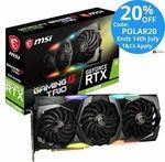 MSI NVIDIA GeForce RTX 2070 SUPER GAMING X TRIO Video Card $847.20 @ Techmall eBay