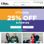 AfterYAY Sale   25% off Storewide + Free Delivery for Orders > $75 @ Glue Store