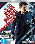 4K Ultra HD Blu-Ray Box Sets: Mission Impossible 6 Movies $71.05, Jurassic Park 5 Movies $61.80 Delivered @ Amazon AU