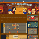 [PC] Free - DRM-Free - Puzzle Chambers (Rated 86% Positive on Steam) - Indiegala