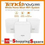 Tenda Nova Dual Wi-Fi Mesh System MW3 3pk $94.95, MW3 4pk $124.95, MW6 3pk $199.95 + Del ($0 w/ eBay Plus) @ SS eBay