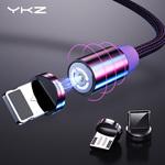 YKZ Nylon Braided Magnetic Cable Micro USB 1m $1.23 US (~$1.81 AU), USB-C 1m $1.30 US (~$1.92 AU) @ YKZ Direct Store AliExpress