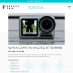 Win a DJI Osmo Action Camera Worth $499.95 from AMP Capital