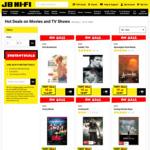 20% off All Movies & TV Shows on Blu-Ray, 4K & DVD @ JB Hi-Fi