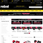 20% off Full Priced Items Sitewide Excludes Items On Promotion and Gift Cards) @ Rebel Sport (Online Only)