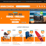 Free - $15 Voucher (No Min Spend) @ Anaconda (in-Store Only)