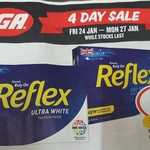 Reflex Ultra White/50% Recycled A4 Paper 500 Sheet $4.00 @ IGA