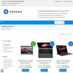 $300 off Selected Refurbished Windows and Apple Laptops (Min Value $999) @ Renewd